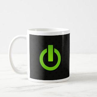 Power Button On Coffee Mug