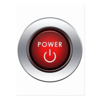 Power Button Post Card