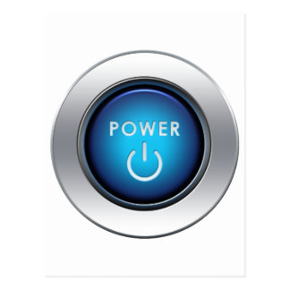 Power Button Post Cards