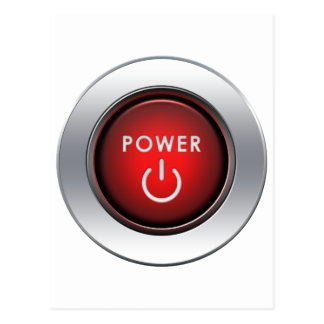 Power Button Post Card