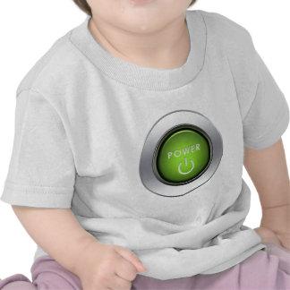 Power Button T-shirts