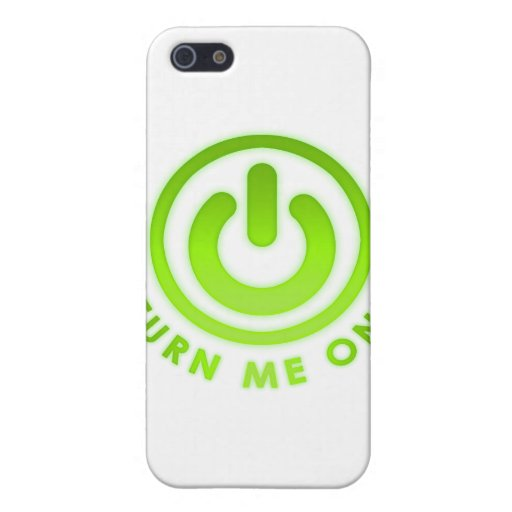 Power Button - Turn Me on Covers For iPhone 5
