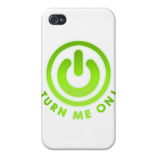 Power Button - Turn Me on iPhone 4 Cover