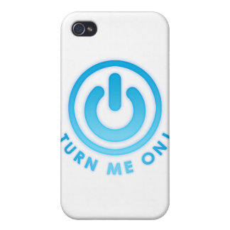 Power Button - Turn Me on iPhone 4 Case