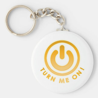 Power Button - Turn Me on Key Chain