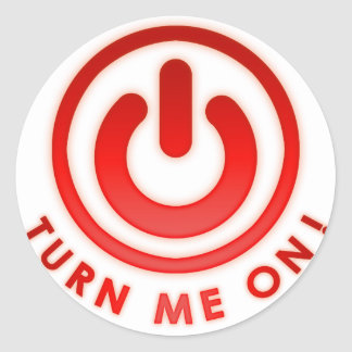 Power Button - Turn Me on Stickers