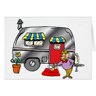Power Camper Greeting Card