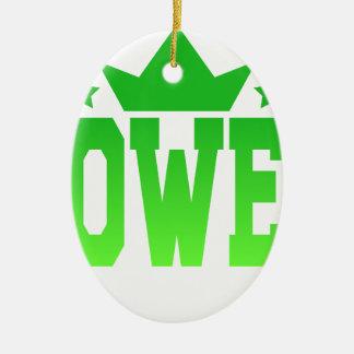 POWER CHRISTMAS ORNAMENT