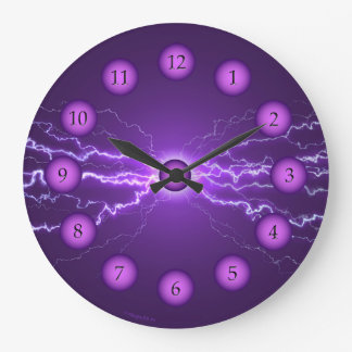 Power Clock Purple