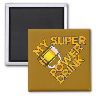 Power Drink custom magnet