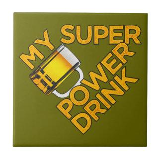 Power Drink custom tile