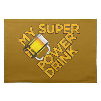 Power Drink placemat
