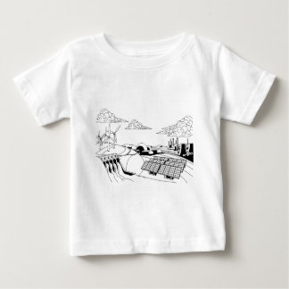 Power Energy Generation Sources Baby T-Shirt