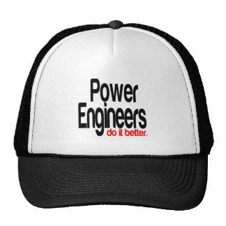 Power Engineers Do It Better Cap