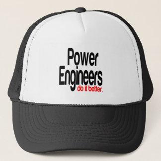 Power Engineers Do It Better Trucker Hat