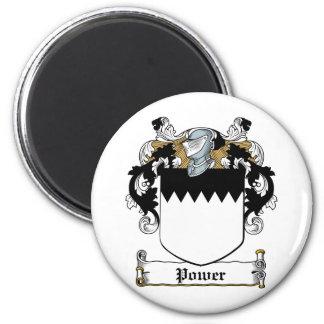 Power Family Crest Magnet