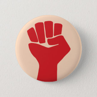 Power Fist Sixties Resist 6 Cm Round Badge