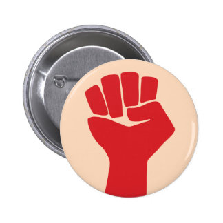 Power Fist Sixties Resist 6 Cm Round Badge