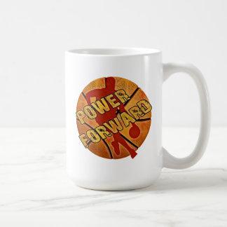 Power Forward Basketball Basic White Mug