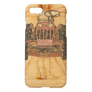 Power King Renaissance Man iPhone iPhone 7 Case