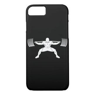 """POWER LIFTING"" Sumo Power Squat Illustration iPhone 7 Case"