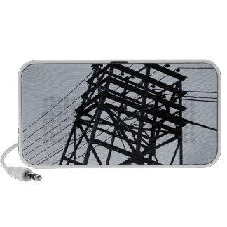 Power Lines (6) Notebook Speakers