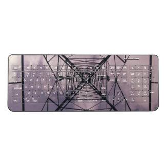 Power Lines Wireless Keyboard