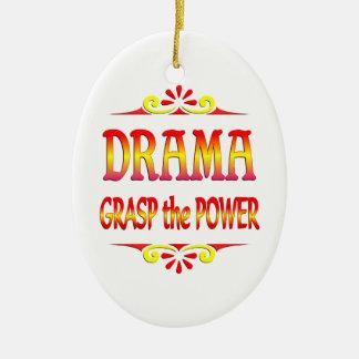 Power of Drama Christmas Ornament