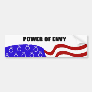 Power of Envy Bumper Sticker