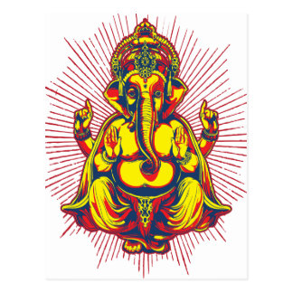 Power of Ganesh Post Cards