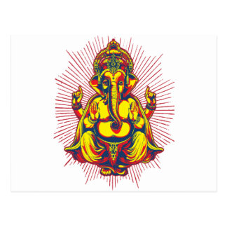 Power of Ganesh Postcard
