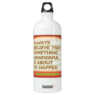 Power of intention n positive thinking SIGG traveller 1.0L water bottle