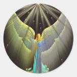 Power of Love Sticker Round Sticker