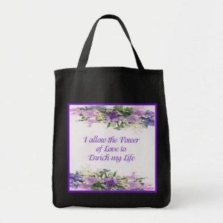 Power of Love Tote Bag Grocery Tote Bag