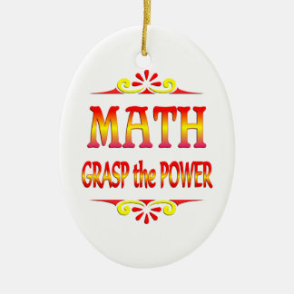 Power of Math Christmas Ornament