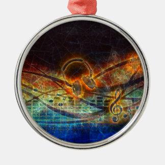 power of music christmas ornament