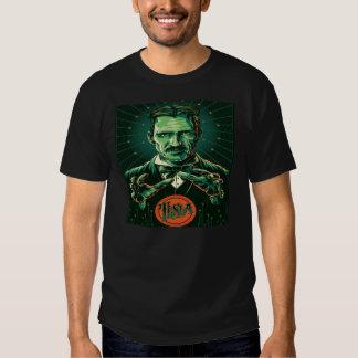 power  of nikola tesla shirts