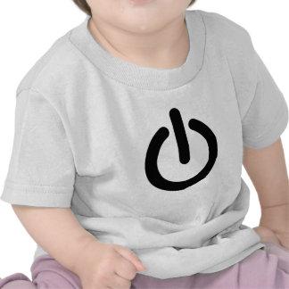 Power ON Button- Light Shirt