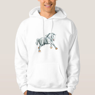 Power Packed Percherons Hooded Pullover