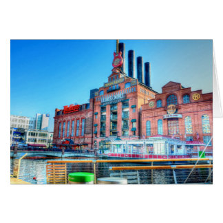 Power Plant Baltimore Inner Harbor Greeting Card