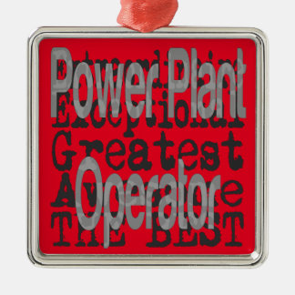 Power Plant Operator Extraordinaire Christmas Ornament