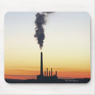 Power Plant Smoke Stack Mouse Mat