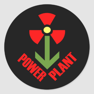 Power Plant Sticker (black)