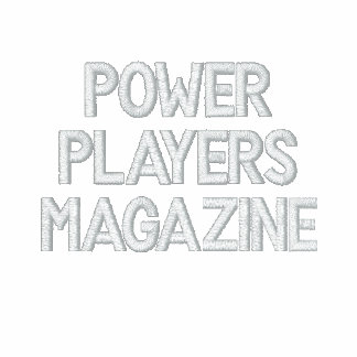 POWER PLAYERS MAGAZINE SHORT SLEEVE POLO KNIT