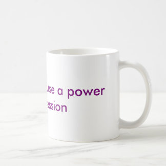 Power Pump Basic White Mug