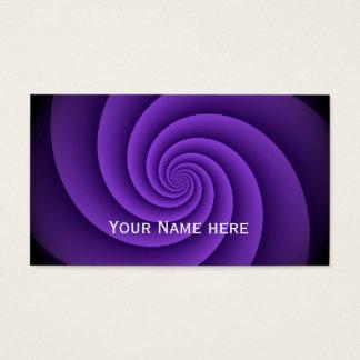 Power Spirals Fractal Pattern - violet