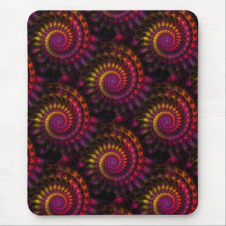 Power Spirals Mouse Pad