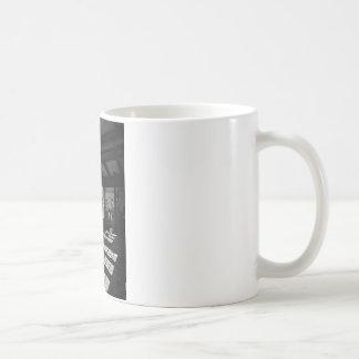 power station 8 bw coffee mug