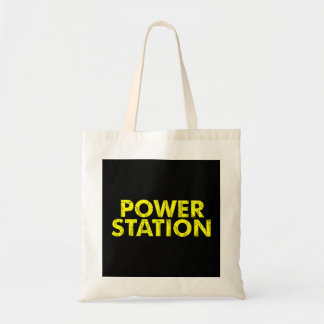 Power Station Budget Tote Budget Tote Bag