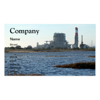 Power Station Business Cards
